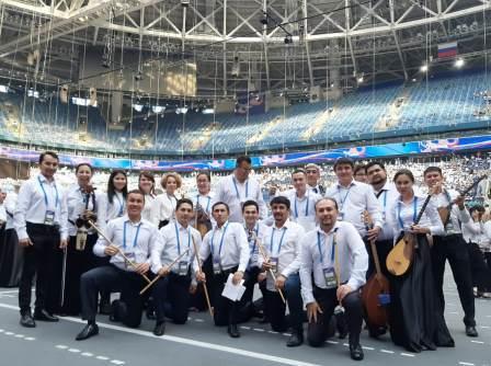 НОНИ РБ и Духовой оркестр Башгосфиларомнии установили рекорд Гиннеса